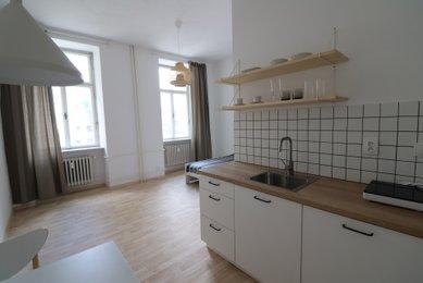 Pronájem bytu 1+kk, ul. Koliště , Brno-střed