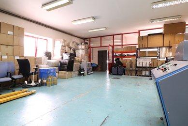 Pronájem výrobní haly, 145 m² - Brno - Husovice, Dukelská třída