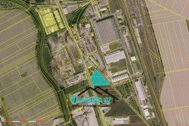 Prodej pozemků pro komerční výstavbu, 6494 m² - Hulín, Ev.č.: 00691
