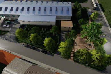 Pronájem skladu 340 m2 Kroměříž, Ev.č.: 01128