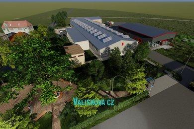 nabízí, pronájem, výrobní skladovací prostory - Stoličkova, Kroměříž, Ev.č.: 01192