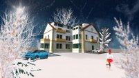 KOzánkova vila vánoce