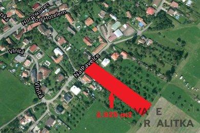 Prodej, pozemek pro bydlení, Zlín - Velíková, Ev.č.: 00449