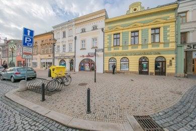 Pronájem, byt 2+1, Hranice, Masarykovo náměstí, Ev.č.: 00729