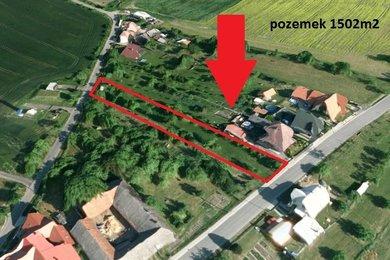Prodej, pozemek pro bydlení, Špičky, Ev.č.: 00779