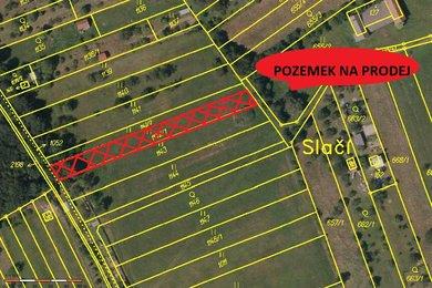 mapa Bohuslávky označené
