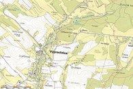 mapa foto CUZK