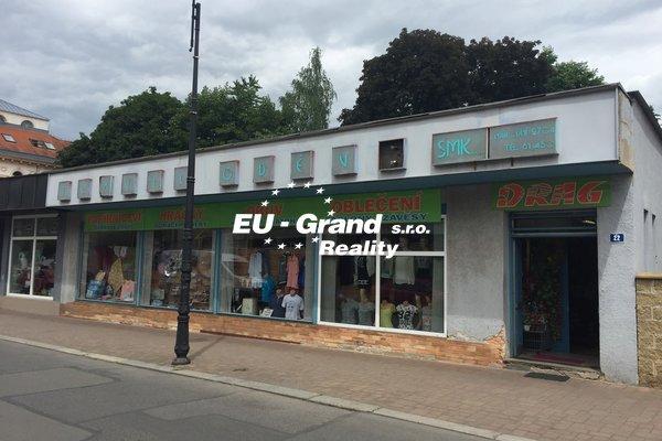 Prodej komerčního domu ve Varnsdorfu