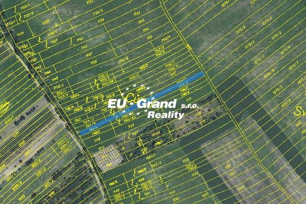 Prodej pozemku 1.850 m2 v obci Velké Němčice