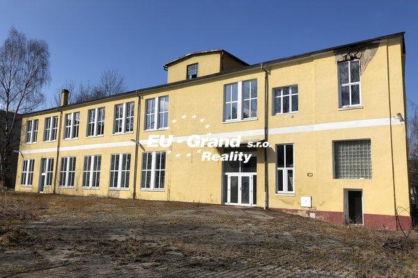 Prodej, Obchodní prostory, Haly  2.450m² - Varnsdorf