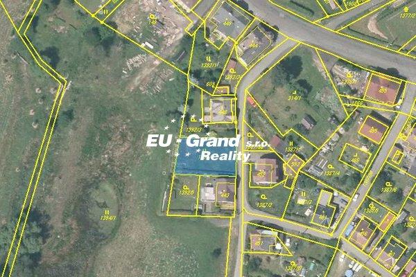 Prodej stavebního pozemku v obci Lipová
