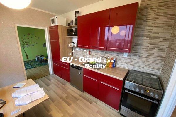 Prodej družtevního bytu 3+1+L ve Varnsdorfu