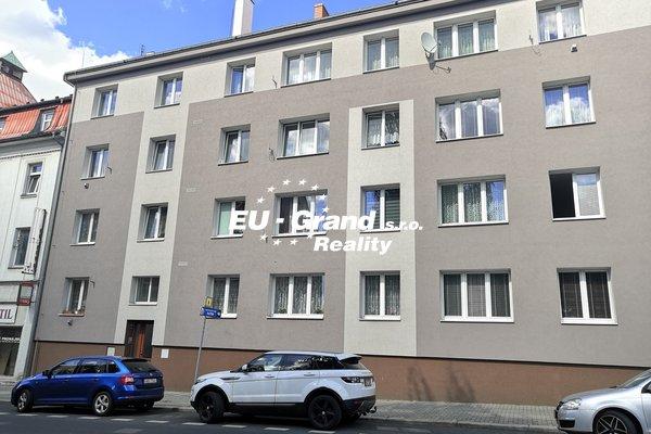 Prodej bytu 1+1 v OV v centru Rumburku na investici