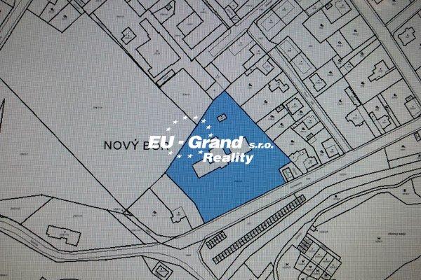 Prodej komerčního pozemku v Novém  Boru