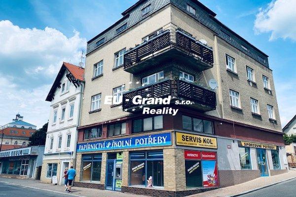 Pronájem obchodních prostor na ulici Národní, Varnsdorf