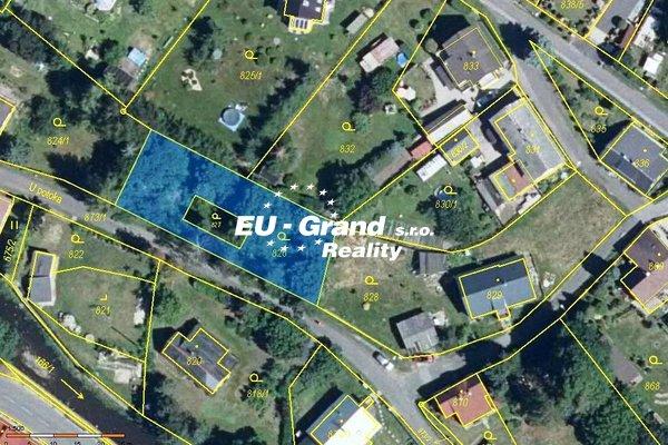 Prodej stavebího pozemku v Rumburku 2-Horní Jindřichov