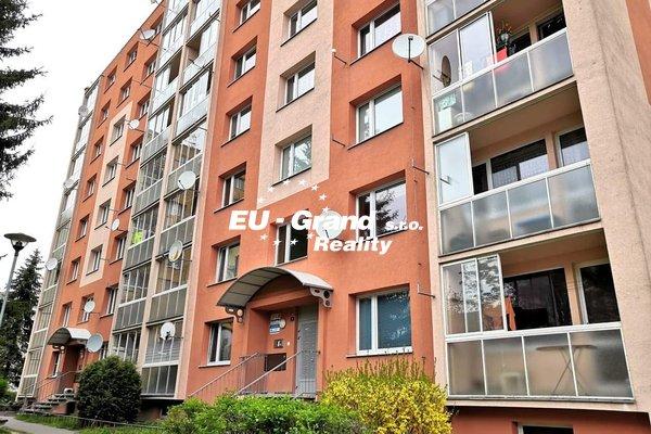 Prodej družstevního bytu 3+1/L v centru Rumburku