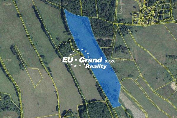 Prodej pozemků - trvalý travní porost - smíšený v k.ú. Dolní Podluží