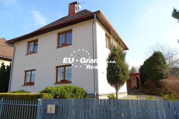 Prodej rodinného domu Varnsdorf 220m2, zahrada 407 m2