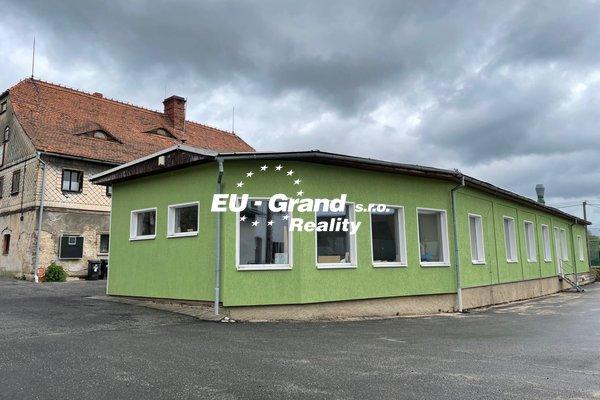 Prodej komerčního objektu s RD ve Varnsdorfu