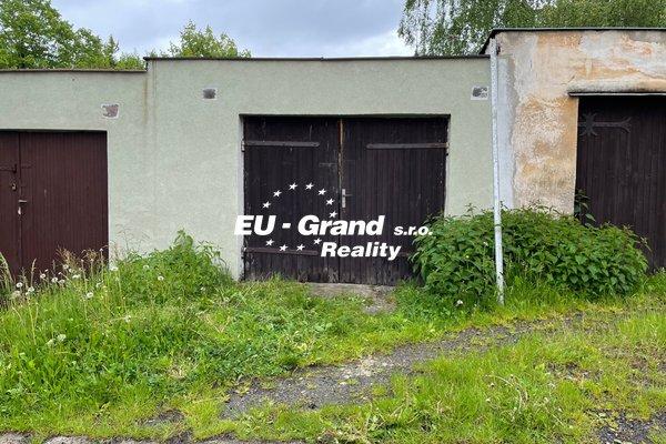 Prodej garáže ve Varnsdorfu