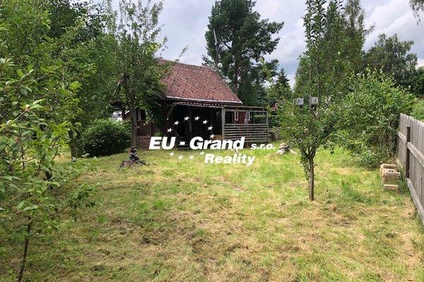 Prodej zahrady s chatkou ve Šluknově