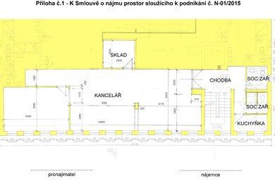 Pronájem, Kanceláře, 102m² - Hulín, Ev.č.: 00379