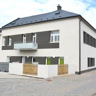 nově zkolaudovaný byt 3+kk v centru Vamberku o velikosti 101,27 m2