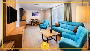 Apartmán č. 2, 2+kk, 38,71 m² , terasa 3,26 m²