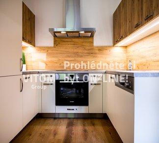 Pronájem bytu 1+kk, po rekonstrukci, zařízený, 40m² - Brno - Veveří - Brno-střed