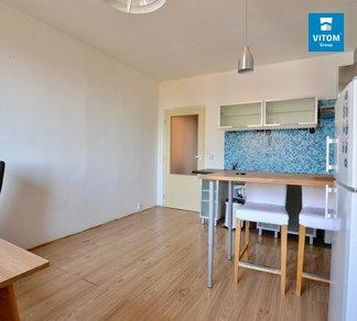 Pronájem bytu s balkónem 2+kk, 44 m² - Bořetická, Brno-Židenice