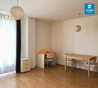 Podnájem příjemného a vybaveného bytu 1+kk 35 m2, se sklepem a balkonem, Božetěchova, Brno - Královo pole