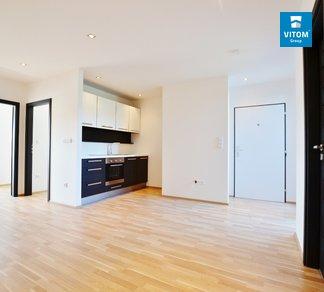 Podnájem  moderního bytu 3+kk s terasou, 64 m², Fryčajova, Brno - Obřany