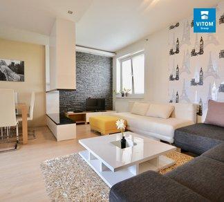 Pronájem, Byty 3+kk, 75m² s nádhernou terasou a balkónem - Brno - Starý Lískovec