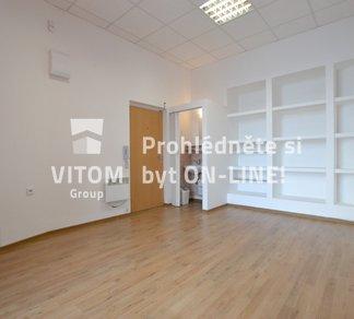 Pronájem nebytového prostoru 17 m² - Brno - Staré Brno, ul. Křížkovského