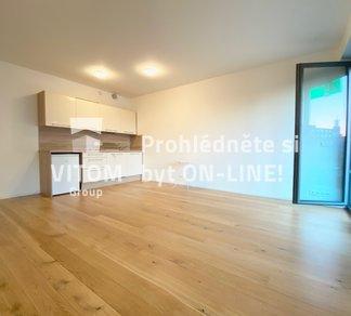 Pronájem Bytu s balkónem a možností parkovacího stání, 2+kk, 53m² - Praha - Vršovice