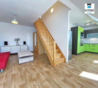 Pronájem, Mezonetový byt 3+kk, 70m² - Brno - Zábrdovice
