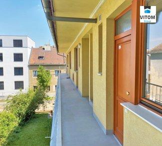 Pronájem, Byty 1+kk, 31 m² - ul. Grmelova, Brno - Štýřice