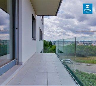 Podnájem bytu 2+kk s terasou,  CP 51 m²- ul. Moskalykova, Brno-Sadová