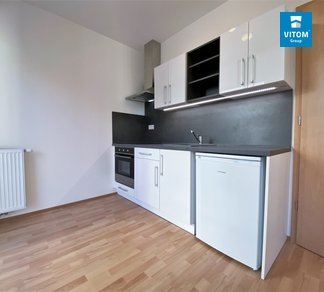 Podnájem, Byty 1+kk s balkonem, 23 m² - Spolková, Brno - střed - Zábrdovice