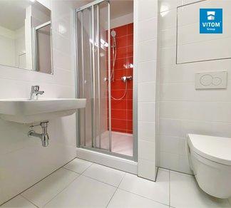 Podnájem, Byt 1+kk s balkonem, 28 m² - Spolková, Brno - střed - Zábrdovice