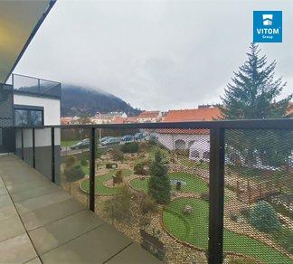Podnájem novostavby bytu 2+kk s terasou, CP 65 m² - ul. Moukova, Tišnov
