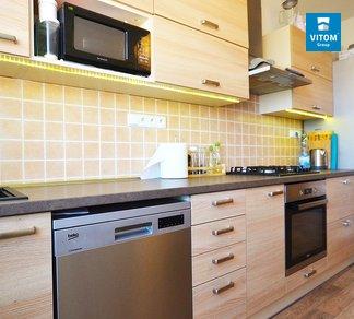 Pronájem, Vybavený prostorný byt 2+1, 66m², Renneská třída, Brno - Štýřice