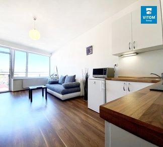 Podnájem, Klidný byt 1+kk blízko centra, 30m², Vídeňská,  Brno - Štýřice