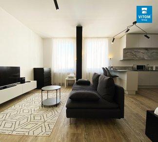 Podnájem bytu 1+kk, 37 m2, moderní vybavený byt v centru města, Kobližná, Brno - střed