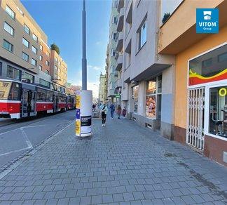 Podnájem, Obchodní prostor, CP 43 m² - ul. Hybešova, Brno - Staré Brno