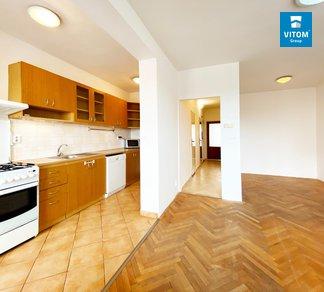 Podnájem bytu 2+kk s 2 balkony a klimatizací, 53m², ulice Královopolská, Brno - Žabovřesky