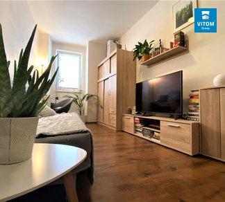 Podnájem zařízeného moderního bytu 1+1, 34m², Brno - Zábrdovice