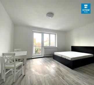 Podnájem bytu 1+kk s balkonem, v novostavbě, 33m², Točná, Brno - Starý Lískovec