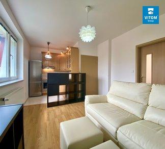 Podnájem bytu 2+kk, 46 m², parkování, sklep - Družstevní 134, Panenské Břežany